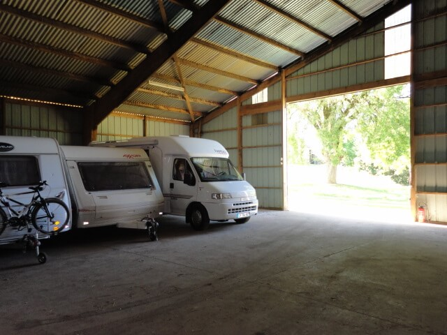 Hivernage camping-car à Gramat (46) Midi-Pyrénées