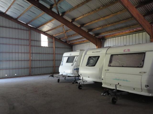 Hivernage caravanes à Gramat dans le Lot (46)